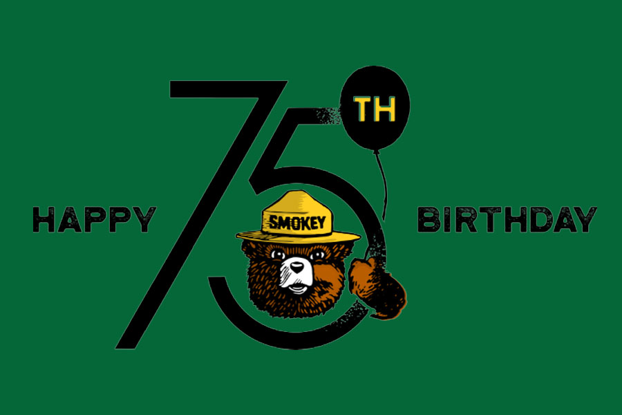 Smokey Bear's 75th Birthday Party